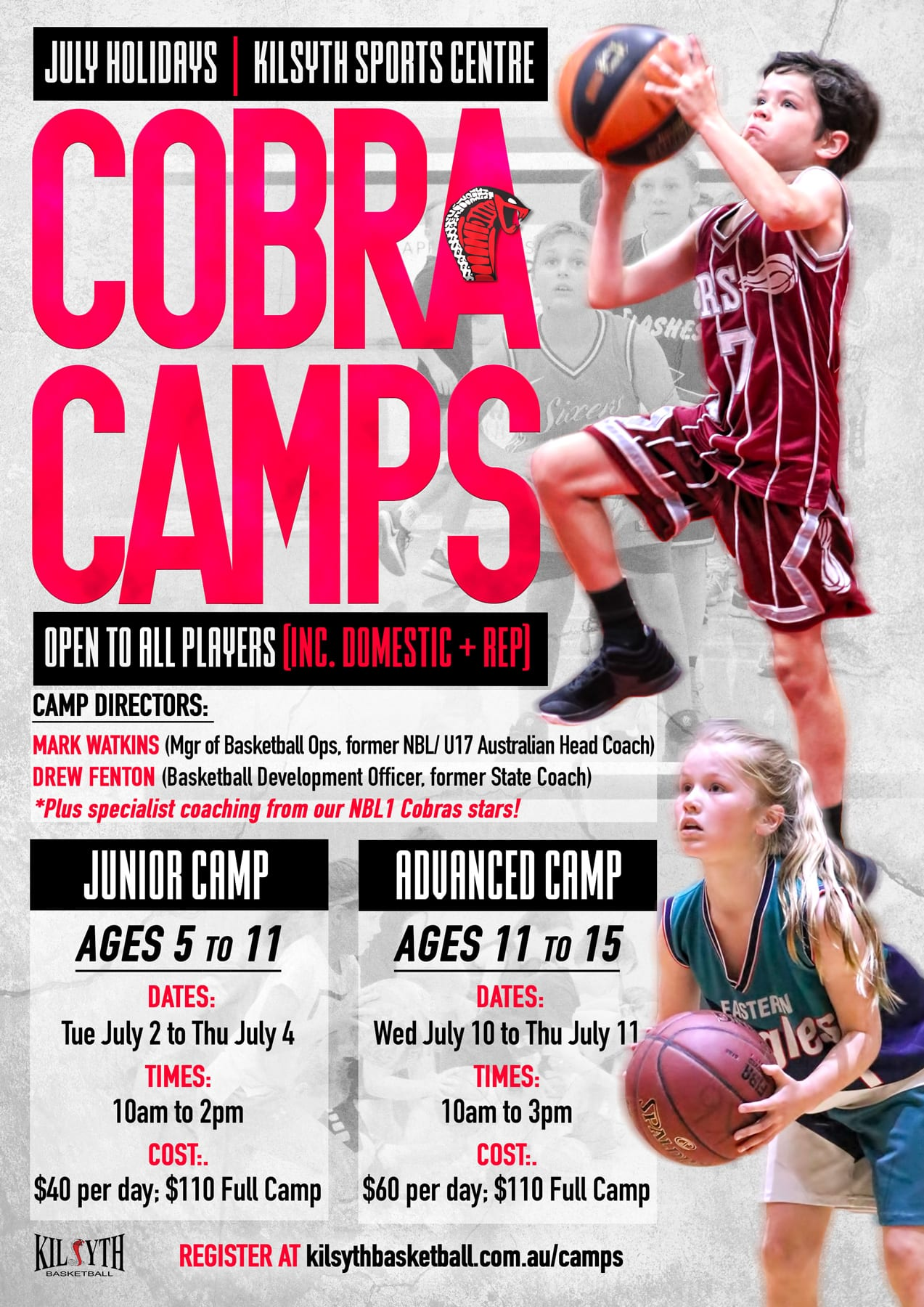 School Holiday Camps - Kilsyth Basketball
